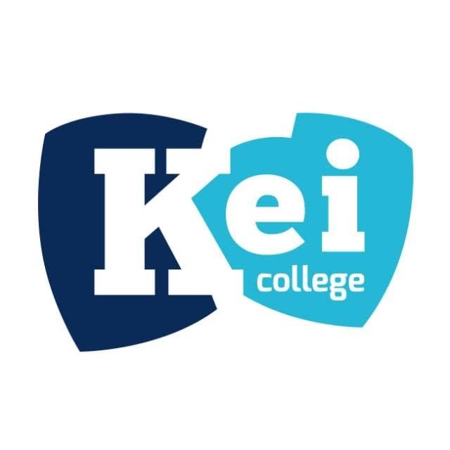 Kei College logo ontwerp