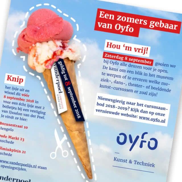 Een zomers gebaar van Oyfo