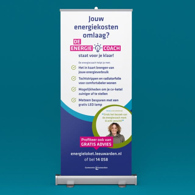Energiecoach Roll-up banner