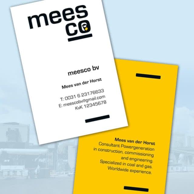 Visitekaartjes Meesco