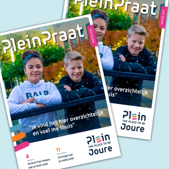 Magazine - Pleinpraat