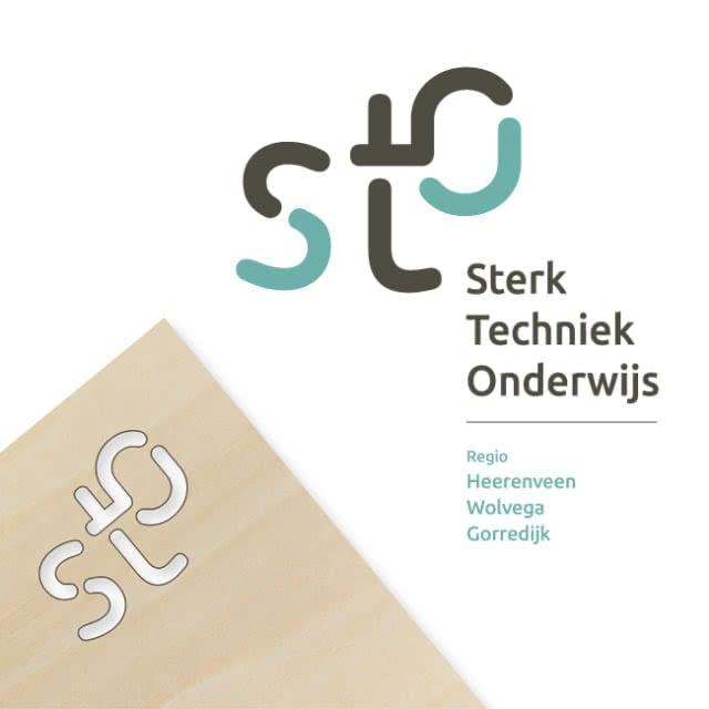 Logo: Sterk Techniek Onderwijs